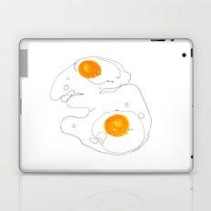 Eggs for breakfast Laptop & iPad Skin