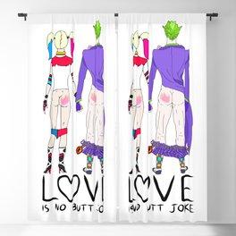 LOVE is no BUTT Joke - Handwritten Blackout Curtain