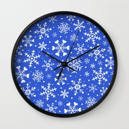 Cute christmas/winter pattern Wall Clock