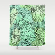 Insects Shower Curtain