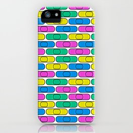 get well colorful band aids iPhone Case
