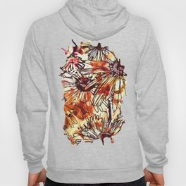 Abstract Floral 02 Hoody