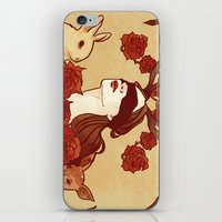 fawn iPhone & iPod Skins featuring fawn by chazstity