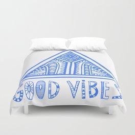 Good Vibes Mindset Duvet Cover