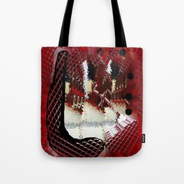 Red Windows Tote Bag