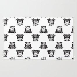 Bulldog pattern Rug