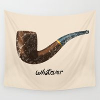whatever Wall Tapestries featuring Whatever by Tobe Fonseca