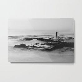 Cottesloe Fisherman Metal Print