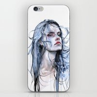 shipping iPhone & iPod Skins featuring obstinate impasse by agnes-cecile