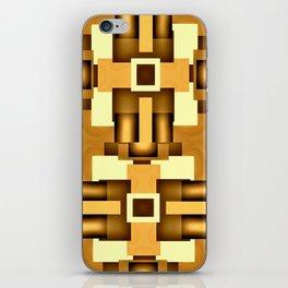 Gold Beige Pipe System,Streampunk iPhone Skin