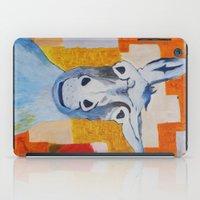 donkey iPad Cases featuring DONKEY by Leonard Lesic