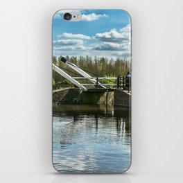 Bridge 221 On The Oxford Canal iPhone Skin