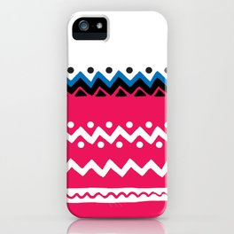 Polygons shape iPhone Case
