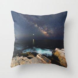 Distant Inspiration Throw Pillow