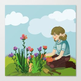 It's your time to bloom Canvas Print