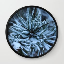 French Alps 2 Wall Clock