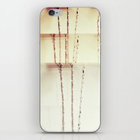 mid century modern iPhone & iPod Skins featuring Mid Century Modern Wall Art  by Beeline Studio