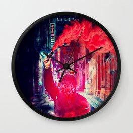 Urban Rebellion by GEN Z Wall Clock