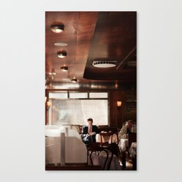 Loneman ∆ Canvas Print
