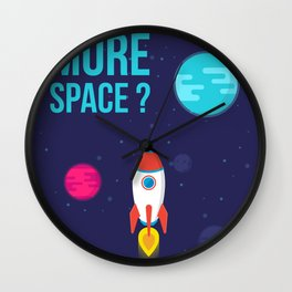 Do you need more Space? Wall Clock