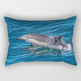 Long Beaked Common Dolphin in Baja Rectangular Pillow