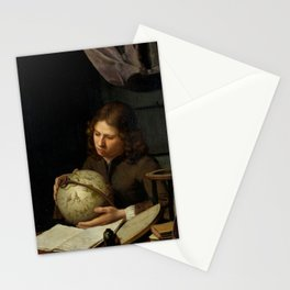 "Olivier van Deuren ""A Young Astronomer"" Stationery Cards"