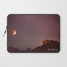 Blood Moon Eclipse over Sedona Laptop Sleeve