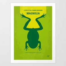 No159 My MAGNOLIA minimal movie poster Art Print