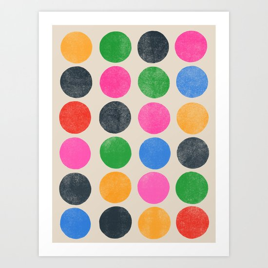 colorplay 3 Art Print