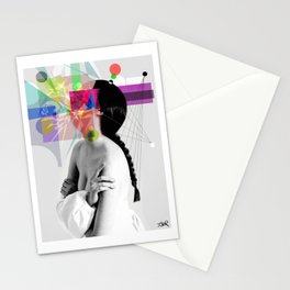 IN HER WORLDS Stationery Cards