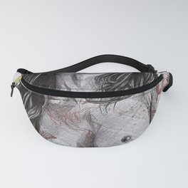 Nothing Violates This Nature (erotic drawing, nude butterfly girl) Fanny Pack