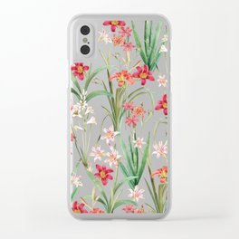 Blossom Botanical Clear iPhone Case