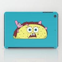 taco iPad Cases featuring Taco Bob by Gimmickey Pop