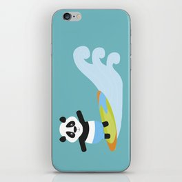 Surf Panda iPhone Skin