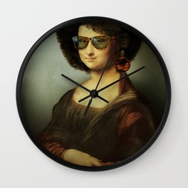 Mona Lisa Boogie Wall Clock