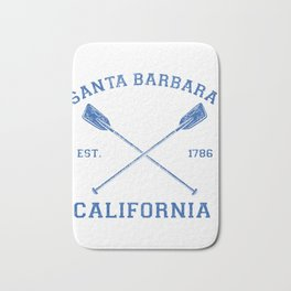 Vintage Santa Barbara Vacation Design Bath Mat