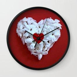 Heart Within Heart Wall Clock