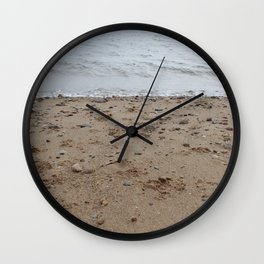Beach Vibes - Argyll - Scotland - West Coast Wall Clock