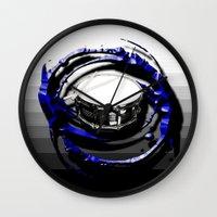 drum Wall Clocks featuring Music - Drum by yahtz designs