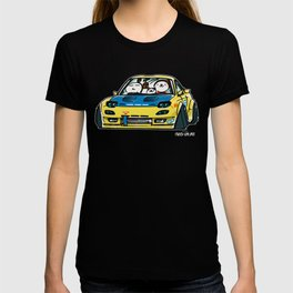 Crazy Car Art 0140 T-shirt