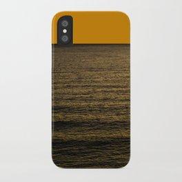 luz naranja iPhone Case