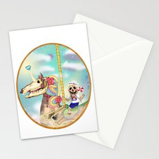 UNICORN CHILDHOOD (my first digital painting, 2012)  Stationery Cards
