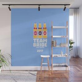 Team Bride Great Britain 2017 T-Shirt Dqqh7 Wall Mural