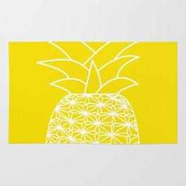 Ananas yellow Rug