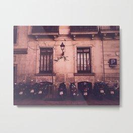 Barcelona Gothic Quarter Metal Print