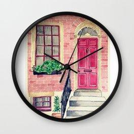 London watercolor Wall Clock