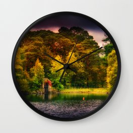 The Old Boat House Wall Clock