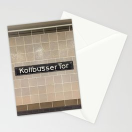 Berlin U-Bahn Memories - Kottbusser Tor U8 Stationery Cards