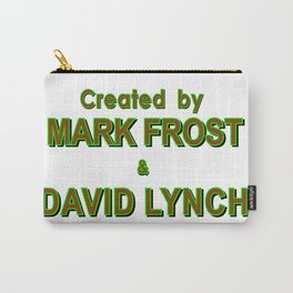 david lynch & mark frost Carry-All Pouch