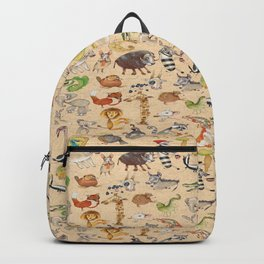 ABC Animals Backpack